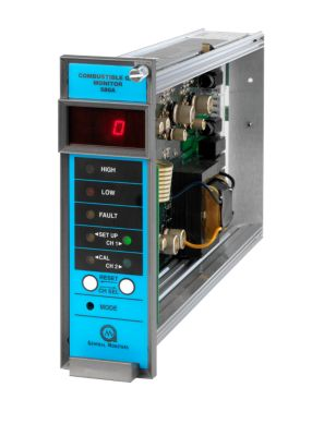 580A Dual-Channel Combustible Gas Monitor